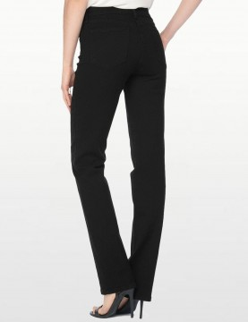 NYDJ - Marilyn Straight Leg Jeans in Black ( Tall ) *431BLG - 40594DTL