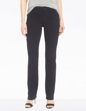 NYDJ - Marilyn Black Straight Leg Jeans *431b