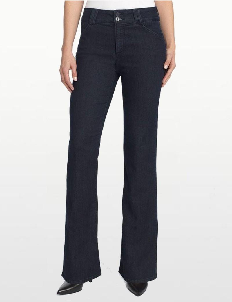 NYDJ - Gwenyth Dark Wash Bootleg Jeans *p1042 - Petites
