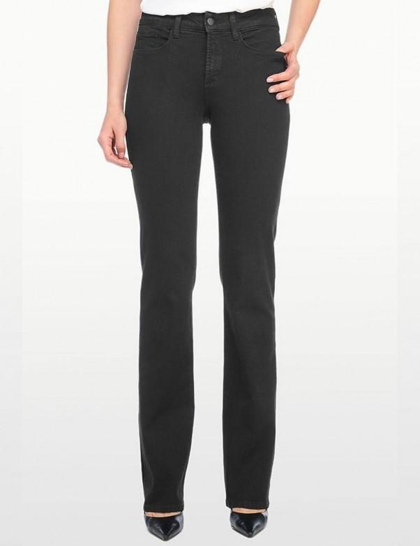NYDJ - Barbara Black Bootcut Jeans - Emb *40232B858