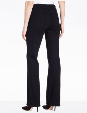 """NYDJ Style 420B - Sarah Black Bootcut Jeans with 31"""" inseam"""