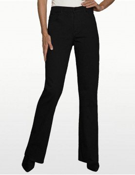 NYDJ - Sarah Classic Bootcut Jeans in Black Denim *400B