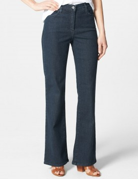 NYDJ - Sarah Blue Black Bootcut Jeans  *700TLG - Tall