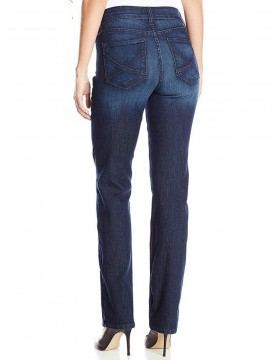 NYDJ - Hayden Straight Leg Jeans in Burbank Wash *10063BK