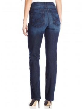 NYDJ - Hayden Straight Leg Jeans in Burbank Wash *10063BK