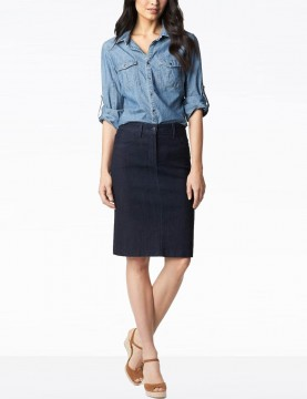 NYDJ - Emma Denim Skirt in...