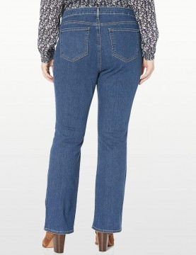 NYDJ - Barbara Bootcut Jeans in Blue Batik ( Plus Petite) *WP66ZBB2339