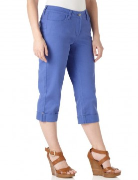 NYDJ - Carmen Colored Denim Cropped Capri's *32551
