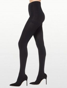 Black Fleece Lined Tights *NO376661MI