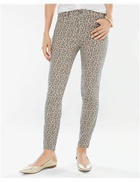NYDJ Skinny Ankle in Leopard Print *HMSLP2600
