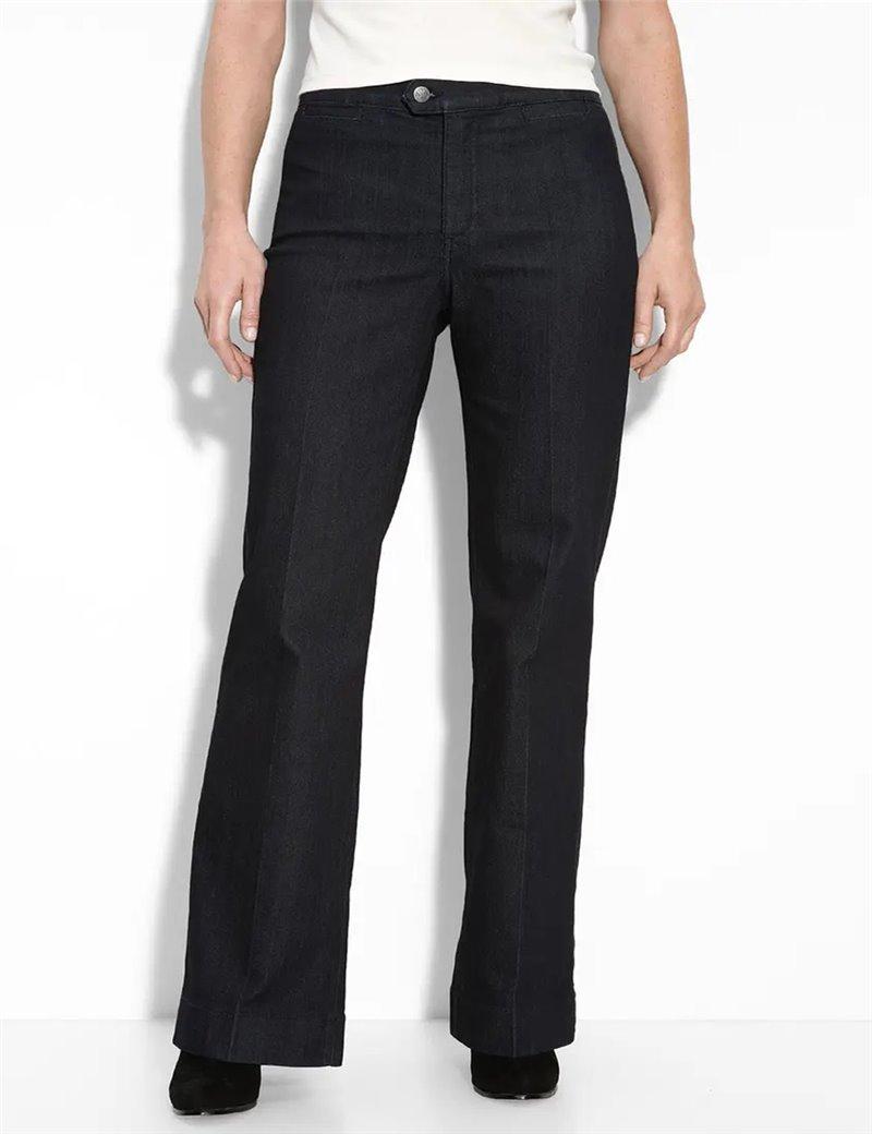 NYDJ - Wendy Trousers in Black *444B